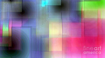 Digital Art - Geometric Patterns 1684 by Rafael Salazar