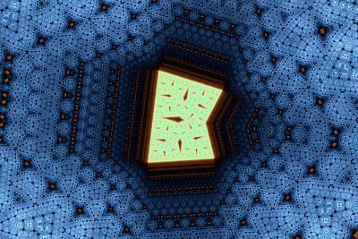 Geometric Patterns No. 50 Art Print by Mark Eggleston