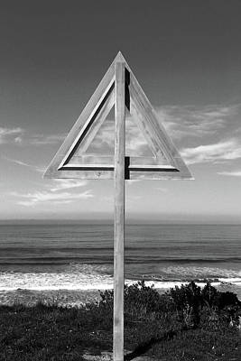 Photograph - Geometric Sign by Nareeta Martin