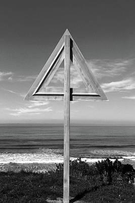 Photograph - Geometric Sign by Nareeta Martin