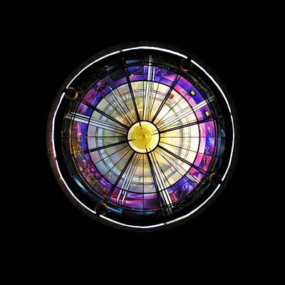 Michaelangelo Photograph - Geometric Translucence - 2 Of 2 by Alan Todd