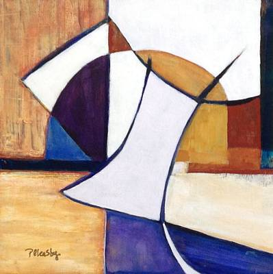 Painting - Geometric Wandering I by Patricia Cleasby