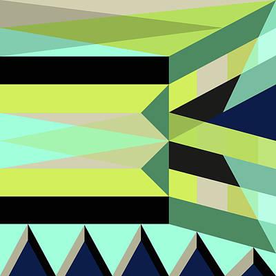 Geometric#25 Art Print by Susana Martins
