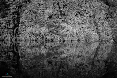 Photograph - Geometries On A Mountain Lake by Cesare Bargiggia