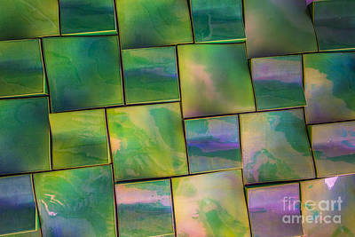 Photograph - Geometrix Color Abstract by Edward Fielding
