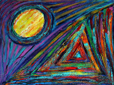 Painting - Geometry by Banning Lary