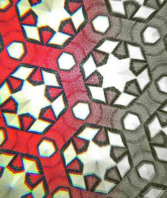 Digital Art - Geometry No. 12-1 by Sandy Taylor