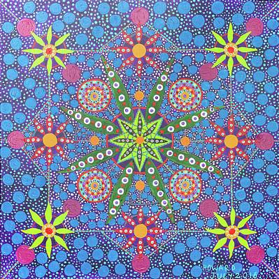 Painting - Geometry Of An Arkana by Howard Charing