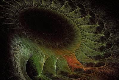 Thomas Kinkade Rights Managed Images - Geometry of Hawking Radiation Royalty-Free Image by Doug Morgan