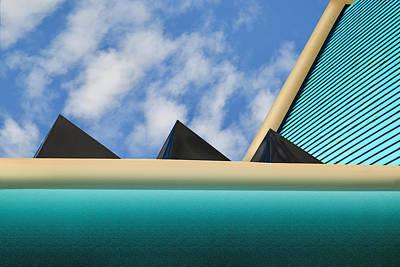 Photograph - Geometry by Paul Wear