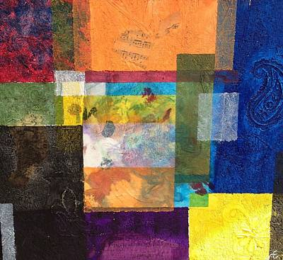 Mixed Media - Geometry by Windy Savarese