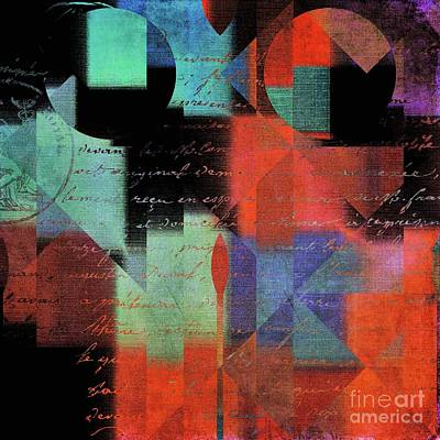 Digital Art - Geomix 04 - 80b by Variance Collections