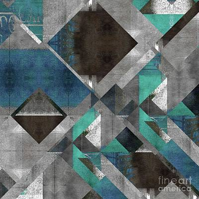 Digital Art - Geomix - 1322-g05 by Variance Collections
