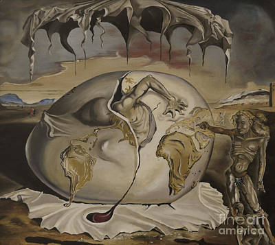 Painting - Dali's Geopolitical Child by James Lavott