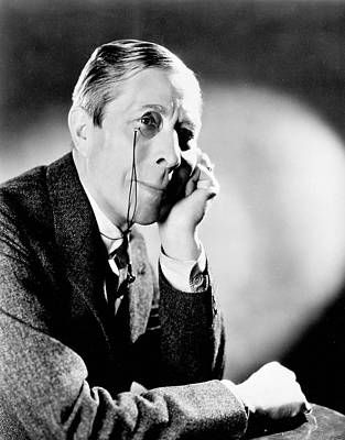 Photograph - George Arliss by Granger