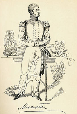 George Augustus Frederick Fitzclarence Art Print by Vintage Design Pics