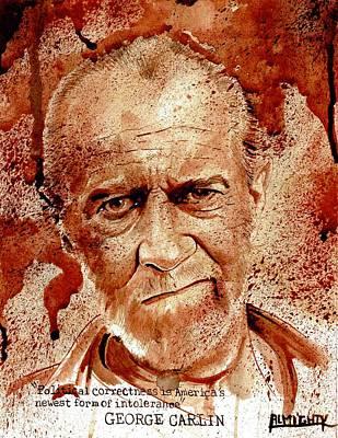 George Carlin Dry Blood Original