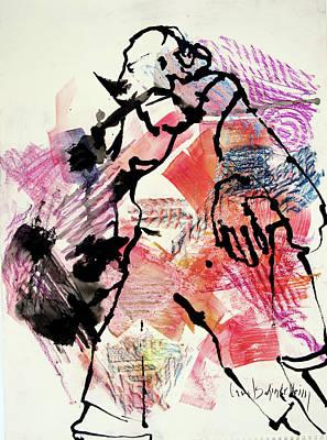 Painting - George by Carol Schindelheim
