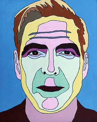 George Clooney Original by Murray Stiller