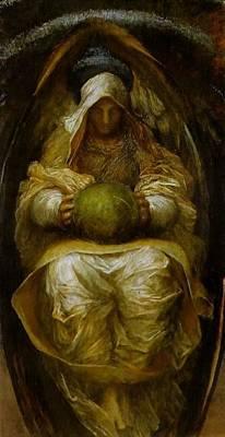 Artichoke Digital Art - George Frederick Watts 1817-1904 - 06175 by Ulrika Sun