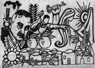 George Habash Art Print by Munir Alawi