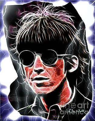 Digital Art - George Harrison 01 by Stephen Mitchell