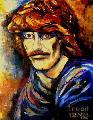 George Harrison Art Print by Carole Spandau