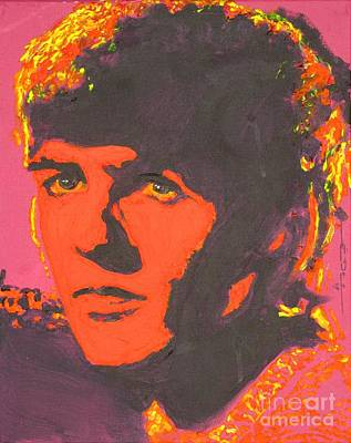 George Harrison Art Print by Eric Dee