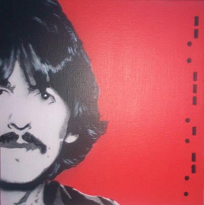 George Harrison Art Print by Gary Hogben