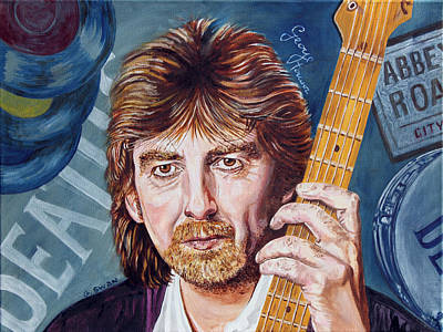 George Harrison Art Print by Graham Swan