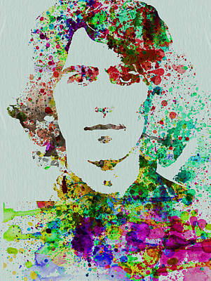 John Lennon Wall Art - Painting - George Harrison by Naxart Studio