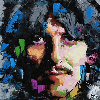 Painting - George Harrison  by Richard Day