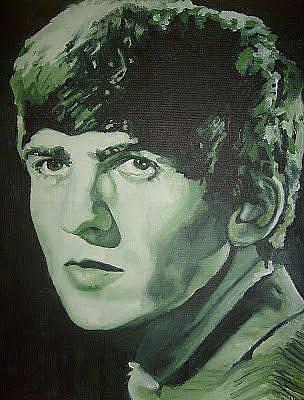 Painting - George Harrison by Sarah LaRose Kane