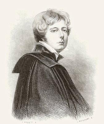 George Henry Harlow, 1787 Art Print by Vintage Design Pics