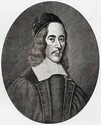 George Herbert, 1593 To 1633. Welsh Art Print by Vintage Design Pics