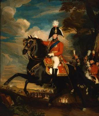 Painting - George Iv by Copley John Singleton