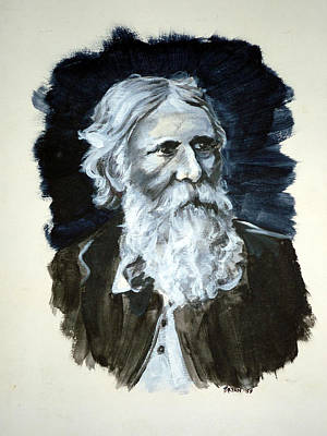 Painting - George Macdonald by Bryan Bustard
