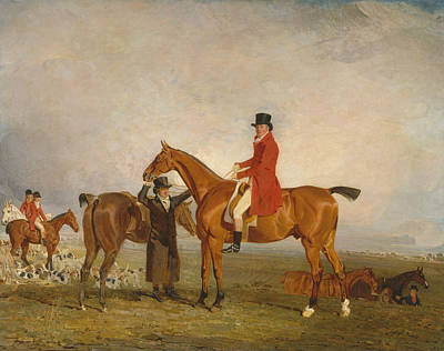 Marshall Painting - George, Marquess Of Huntly by Benjamin Marshall