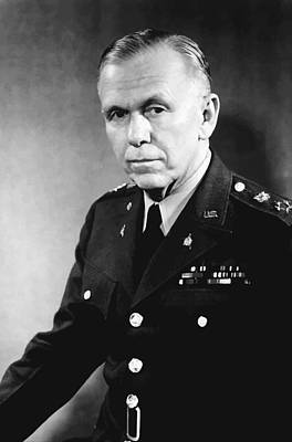 Hero Painting - George Marshall by War Is Hell Store