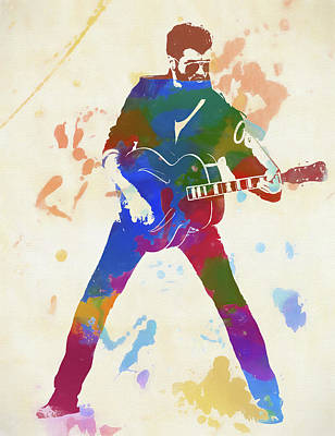 Painting - George Michael by Dan Sproul
