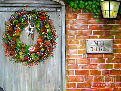Painting -  George Michaels Mill Cottage by Patrice Torrillo