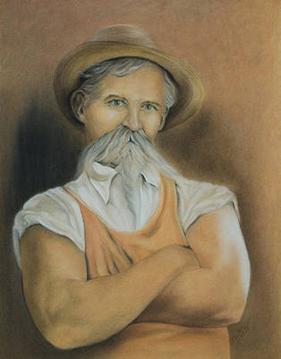 Painting - George Ohr Mad Potter by Dee Dee Whittle