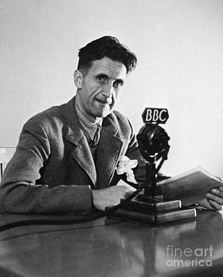 George Orwell (1903-1950) Art Print by Granger