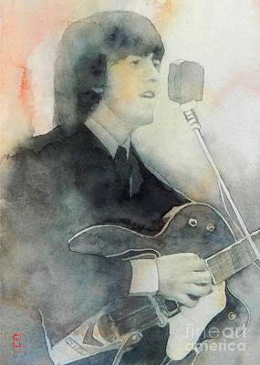 Painting - George by Robert Hooper
