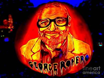 Digital Art - George Romero by Ed Weidman