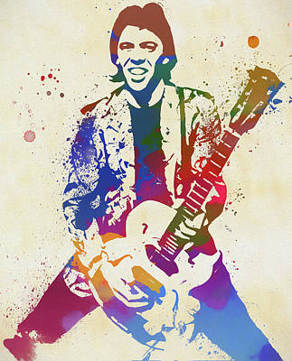 Painting - George Thorogood by Dan Sproul