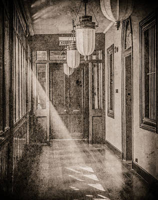 Photograph - George Town, Penang, Malaysia - Lanterns And Light, Silverplate by Mark Forte