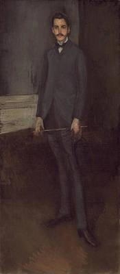 Whistler Painting - George W Vanderbilt by James Abbott McNeill Whistler