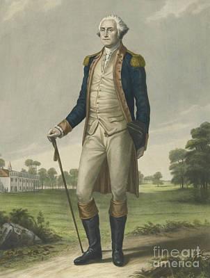 George Washington, 1859 Print by Hezekiah Wright Smith