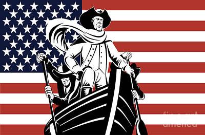 Politicians Digital Art - George Washington by Aloysius Patrimonio